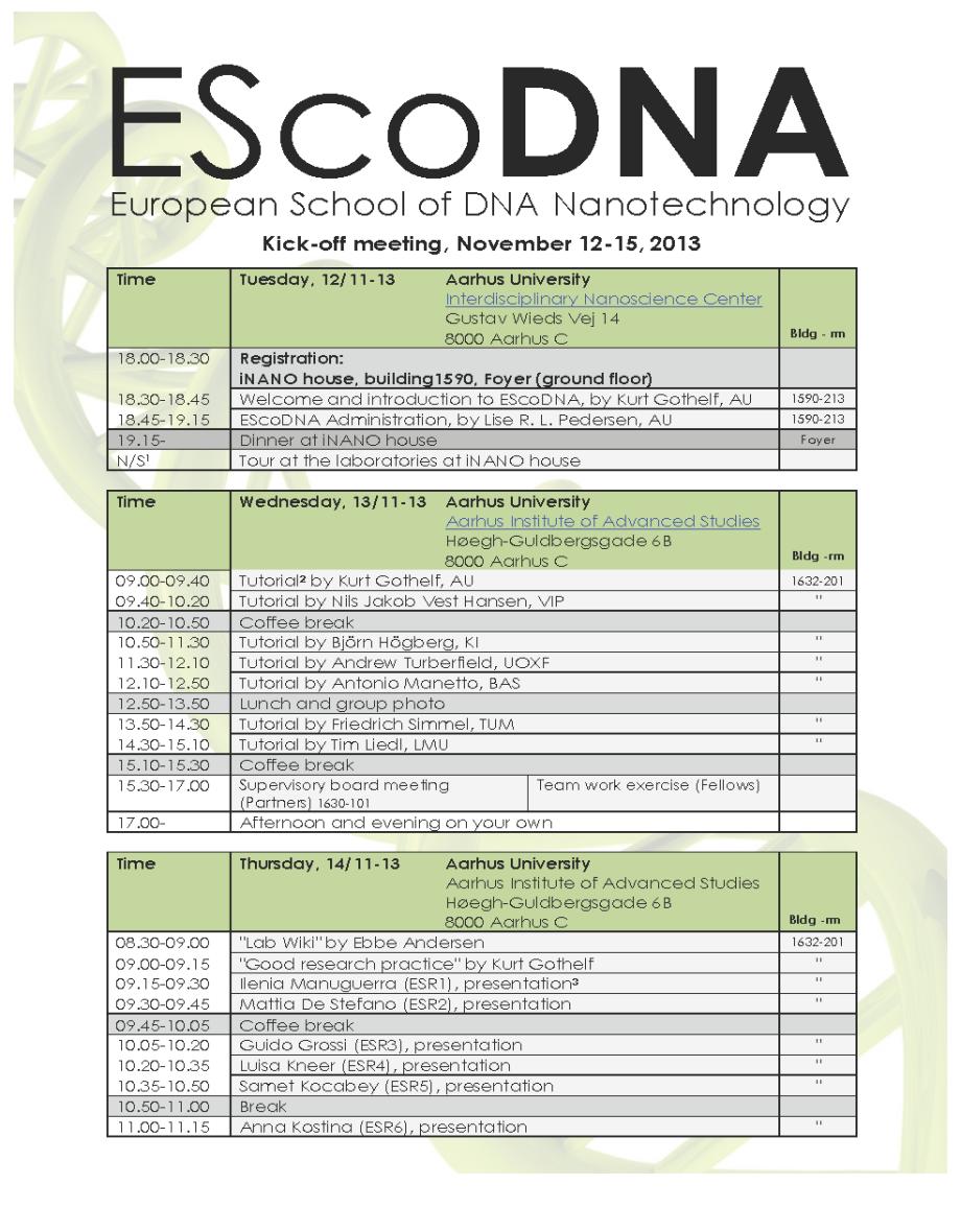 EScoDNA – Kick-off - Program_Page_1