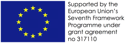 Supported by the European Union's Seventh Framework Programme under grant agreement no 317110