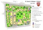 Site plan - St. Anne's College